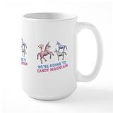 Candy mountain Large Mugs (15 oz)