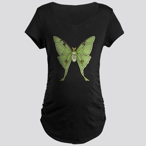 Luna Moth Maternity T-Shirt