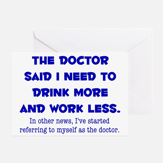The Doctor Greeting Cards