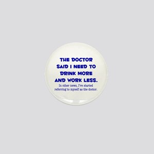 The Doctor Mini Button