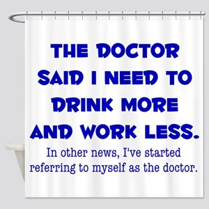 The Doctor Shower Curtain