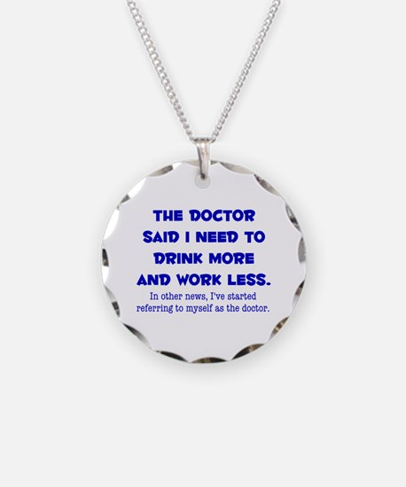 The Doctor Necklace