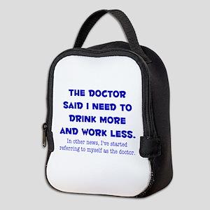 The Doctor Neoprene Lunch Bag