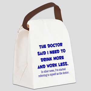 The Doctor Canvas Lunch Bag