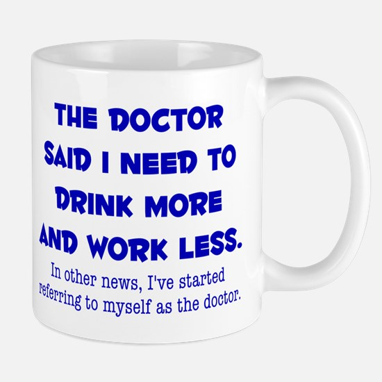 The Doctor Mugs