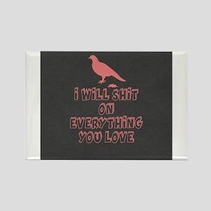 Funny Bird Poop s Magnets
