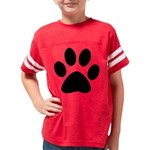 puppy prints Youth Football Shirt