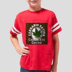Chocolate Chunk Youth Football Shirt