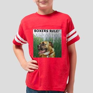 Jackson - Boxers Rule Field - Youth Football Shirt
