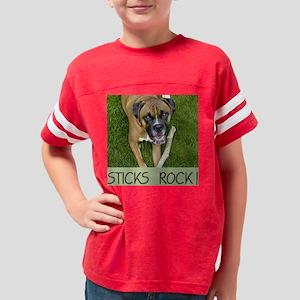 Jackson - Sticks Rock! Youth Football Shirt