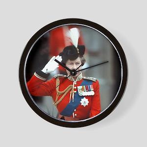 HM Queen Elizabeth II Trooping Wall Clock