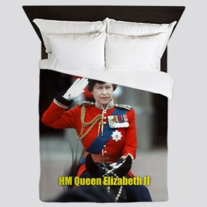 HM Queen Elizabeth II Trooping Queen Duvet