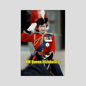 HM Queen Elizabeth II Trooping Magnets
