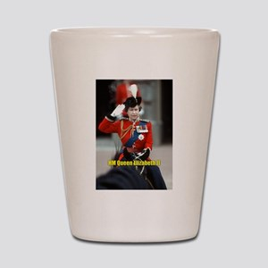 HM Queen Elizabeth II Trooping Shot Glass