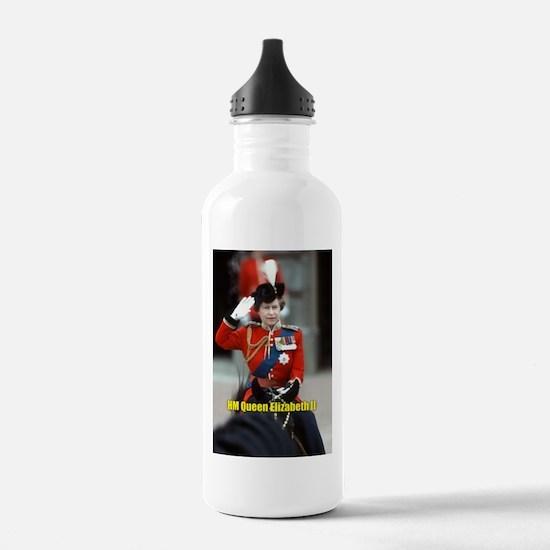 HM Queen Elizabeth II Trooping Sports Water Bottle