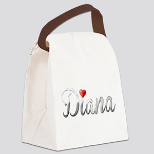 Diana Canvas Lunch Bag