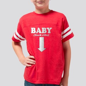 10by10_baby_whiteONtrans Youth Football Shirt