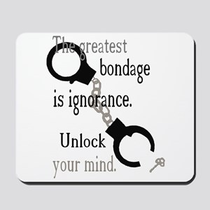 Unlock Your Mind Mousepad