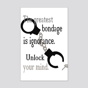 Unlock Your Mind Mini Poster Print