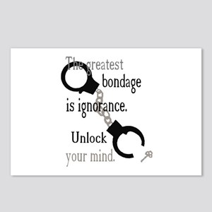 Unlock Your Mind Postcards (Package of 8)