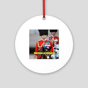 HRH Duke of Edinburgh Ornament (Round)