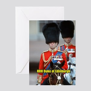 HRH Duke of Edinburgh Greeting Card