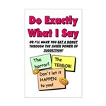 Do Exactly... DONUTS Mini Poster Print