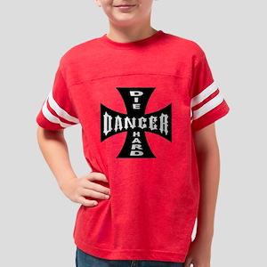 dieharddancer01 Youth Football Shirt