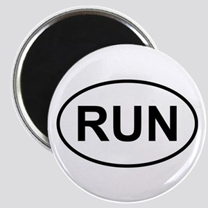 Run Runner Running Track Oval Magnet