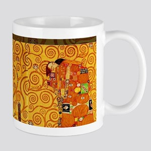 Gustav Klimt Tree of Life Art Nouveau Mugs