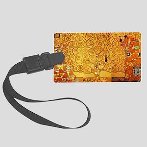 Gustav Klimt Tree of Life Art No Large Luggage Tag