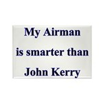 My Airman is smarter than John Kerry Rectangle Ma