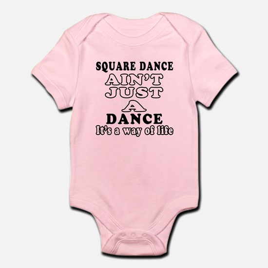 Square Dance Not Just A Dance Infant Bodysuit