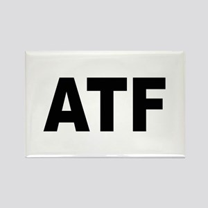ATF Alcohol Tobacco & Firearms Rectangle Magnet