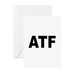 ATF Alcohol Tobacco & Firearms Greeting Cards (Pac