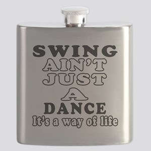 Swing Not Just A Dance Flask