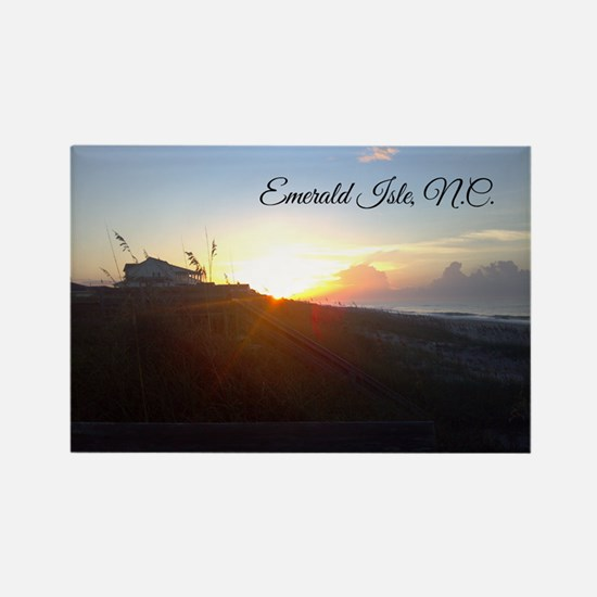 Emerald Isle Sunrise Magnets