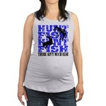 Hunt Fish Maternity Tank Top