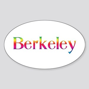 Berkeley Oval Sticker