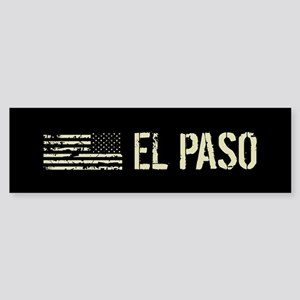 Black Flag: El Paso Sticker (Bumper)