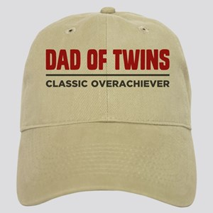 a4a70eeeef617 DAD OF TWINS Classic Overachiever Baseball Cap