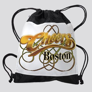 Cheers, Boston Drawstring Bag