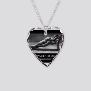 A good partner or spouse Necklace Heart Charm