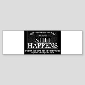 Shit Happens Sticker (Bumper)