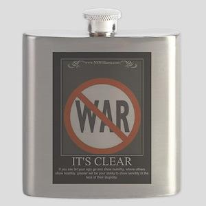 No To War Flask