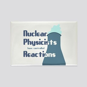 Nuclear Physicist Rectangle Magnet