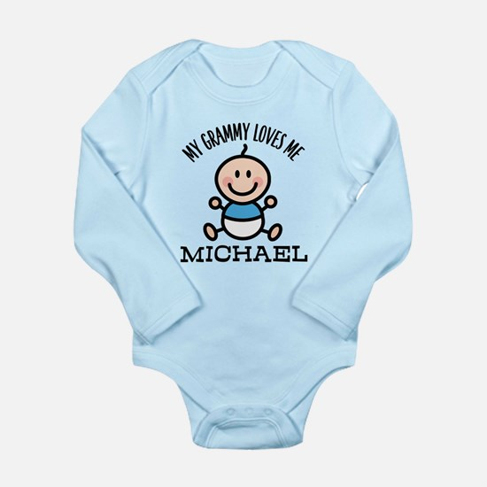 Grammy Loves Me Baby Boy Body Suit