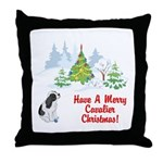 CKCS Christmas Throw Pillow