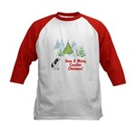 CKCS Christmas Kids Baseball Jersey