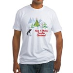 CKCS Christmas Fitted T-Shirt